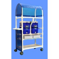 Care Products, Inc. 20 Qt. Hydration Rolling Cart Cooler CRPD1015
