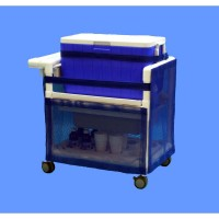Care Products, Inc. 48 Qt. Hydration Rolling Ice Cart CRPD1006