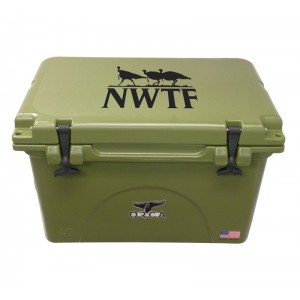 Outdoor Recreational Company of America 40 Qt. NWTF Premium Rotomolded Cooler ORCA1009