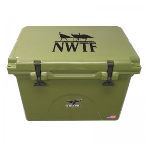 Outdoor Recreational Company of America 58 Qt. NWTF Premium Rotomolded Cooler ORCA1025