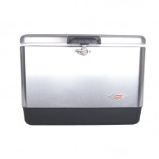 Coleman 54 Qt. Stainless Steel Belted Cooler CLM1456