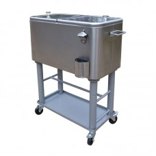Oakland Living 80 Qt. Party Cooler Cart OAA2870