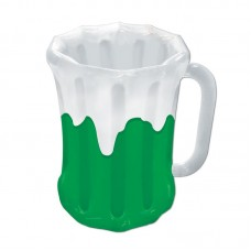 The Beistle Company 24 Can Inflatable Beer Mug Cooler TBCY5159