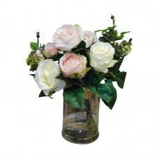 Rosdorf Park Classic English Rose Garden Centerpiece II ROSP6772