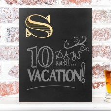 Cathys Concepts Personalized Custom Initial Wall Mounted Chalkboard YCT4439