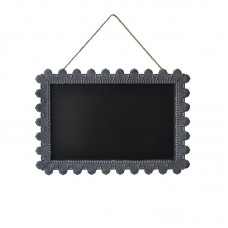Cheungs Rectangle Hanging Rope Magnetic Wall Mounted Chalkboard HEU3533