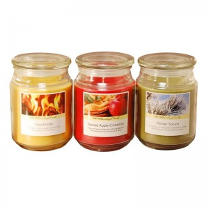 LumaBase 3 Piece Holiday Collection Scented Jar Candle Set JHSI1118