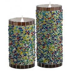Pacific Accents Solare Flameless Candle EKT1113