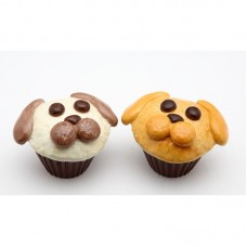 CosmosGifts Dog Cupcake Salt and Pepper Set SMOS1056