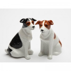 CosmosGifts Jack Russell 2 Piece Salt and Pepper Set SMOS1326