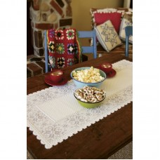 Heritage Lace Chalet Table Runner HLJ1095