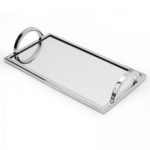 ClassicTouch Relic Mirror Touch Tray CTOU1349