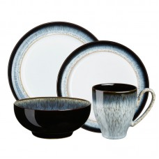 Denby Halo 4 Piece Place Setting, Service for 1 DEN2019