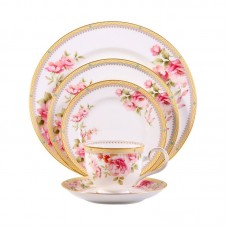 Noritake Hertford Bone China 5 Piece Place Setting, Service for 1 NTK5154