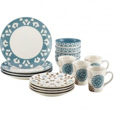 Rachael Ray Rachael Ray 16-Piece Dinnerware Set in Print RRY3547
