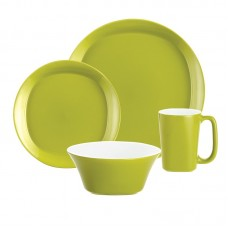 Rachael Ray Round Square 4 Piece Place Setting Set, Service for 1 RRY1526