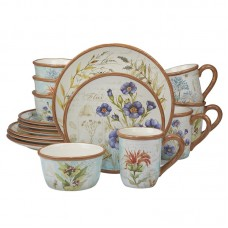 August Grove Fritch Herb Blossoms 16 Piece Dinnerware Set, Service for 4 CEI4764