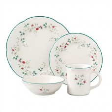 Pfaltzgraff Winterberry 16 Piece Dinnerware Set, Service for 4 PFZ1632