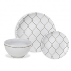 Breakwater Bay Malcolm Trellis 12 Piece Dinnerware Set, Service for 4 BKWT4199