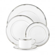 Lenox Westerly Platinum Bone China 5 Piece Place Setting, Service for 1 LNX2257