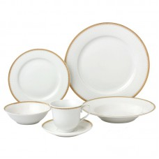 Lorren Home Trends 24 Piece Dinnerware Set, Service for 4 LHT1808
