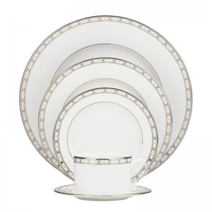 kate spade new york Signature Spade Bone China 5 Piece Place Setting, Service for 1 KSNY1588