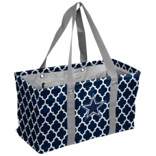 Logo Brands Quatrefoil Caddy Picnic Tote Bag XMT2852