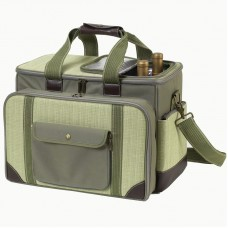 Picnic at Ascot Hamptons Deluxe Picnic Cooler for Four PVQ1125