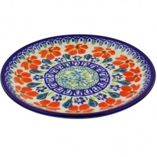 "Polmedia Polish Pottery 7"" Dinner Plate PMDA4294"
