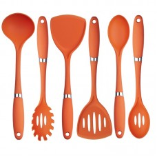 Culinary Edge 6 Piece Premium Quality Nylon Utensil Set CULD1010