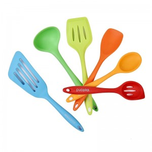 Welland Industries LLC 6 Piece Silicone Cooking Utensil Set WAND1170