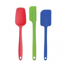 HAROLD IMPORT COMPANY Nonstick Heat-Resistant Flexible 3 Piece Silicone Spatula Set HGY1122