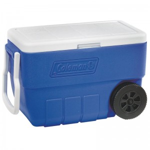 Coleman 50 Qt. Wheeled Rolling Cooler CLM1310
