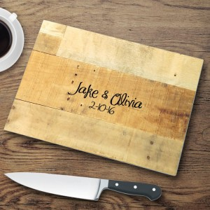 JDS Personalized Gifts Personalized Glass Cutting Board JMSI2553