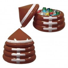 The Beistle Company 24 Can Inflatable Football Cooler TBCY4418